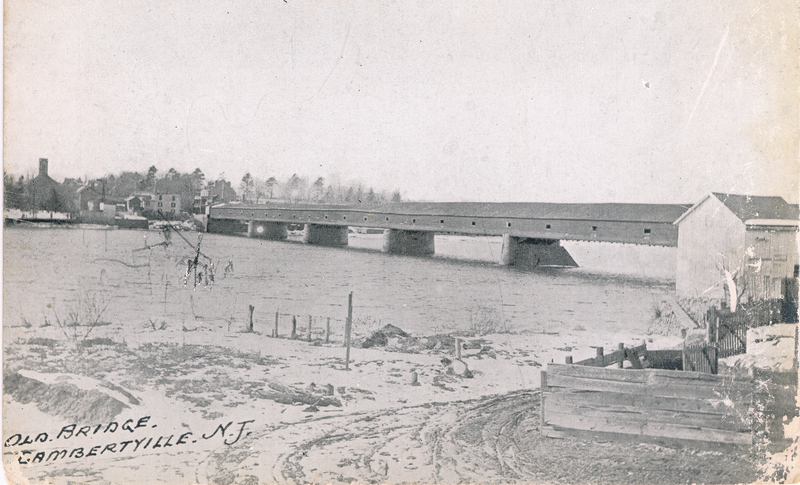 New Hope - Lambertville Bridge c. 1842 - 1903