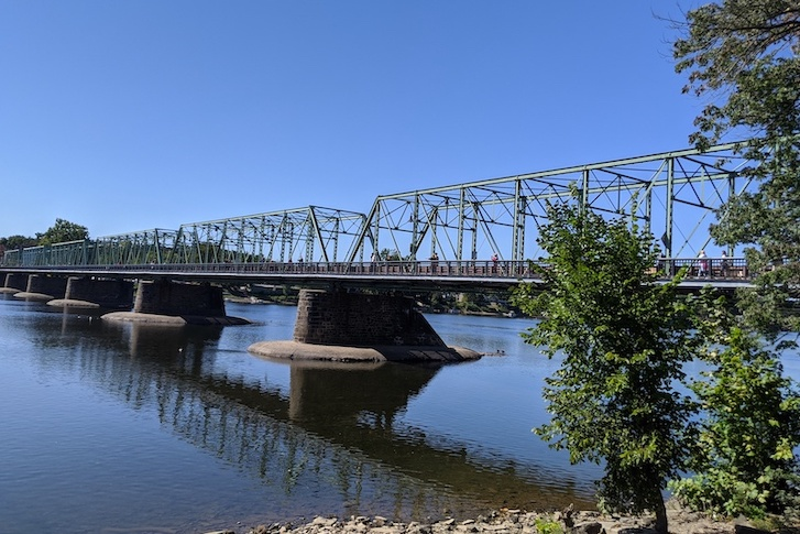 New Hope - Lambertville Toll-Supported Bridge October, 2020
