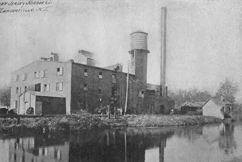 NJ Rubber Co. c. 1900