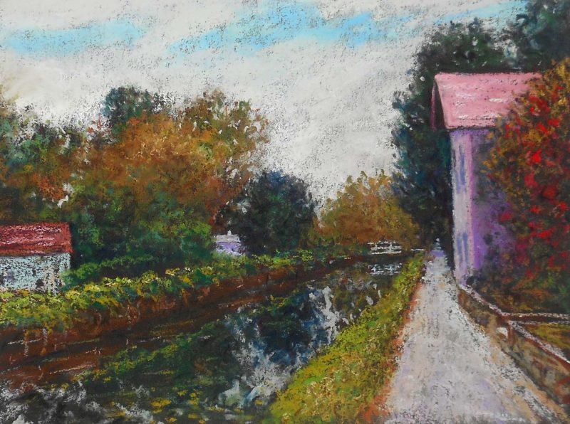 D&R Canal at Lambertville No. 1 by Bob Richey