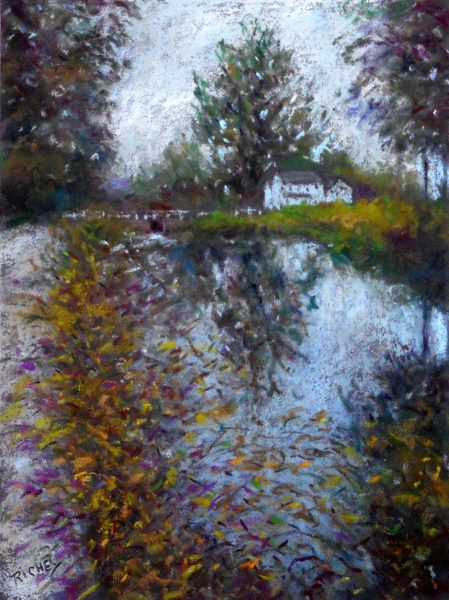 D&R Canal at Lambertville No. 2 by Bob Richey