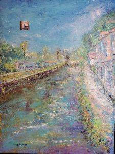 Lambertville Path by SiriOm Singh