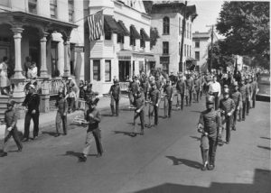 Parade at North Union Street, 1946