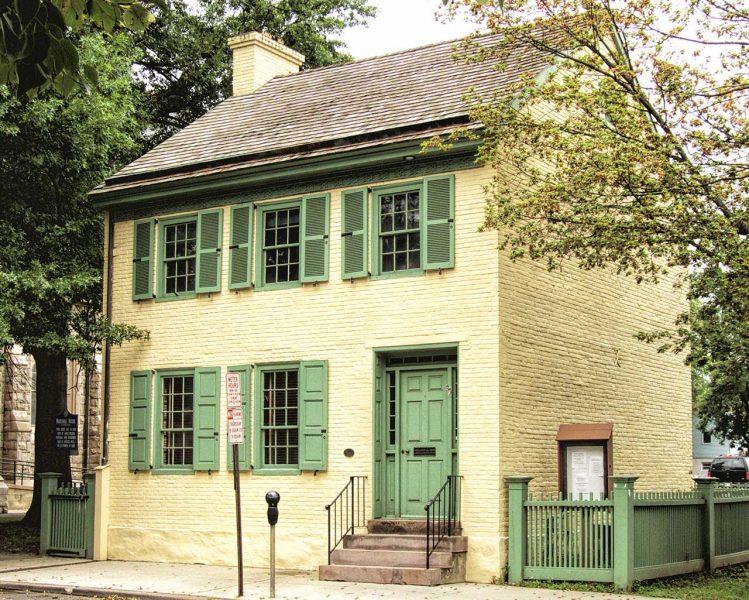 James Wilson Marshall House Museum, 60 Bridge Street, Lambertville, NJ