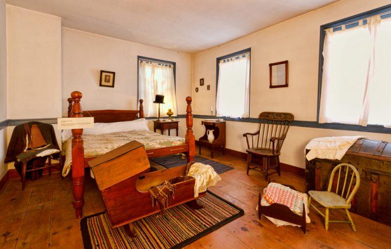 Marshall House Bedroom