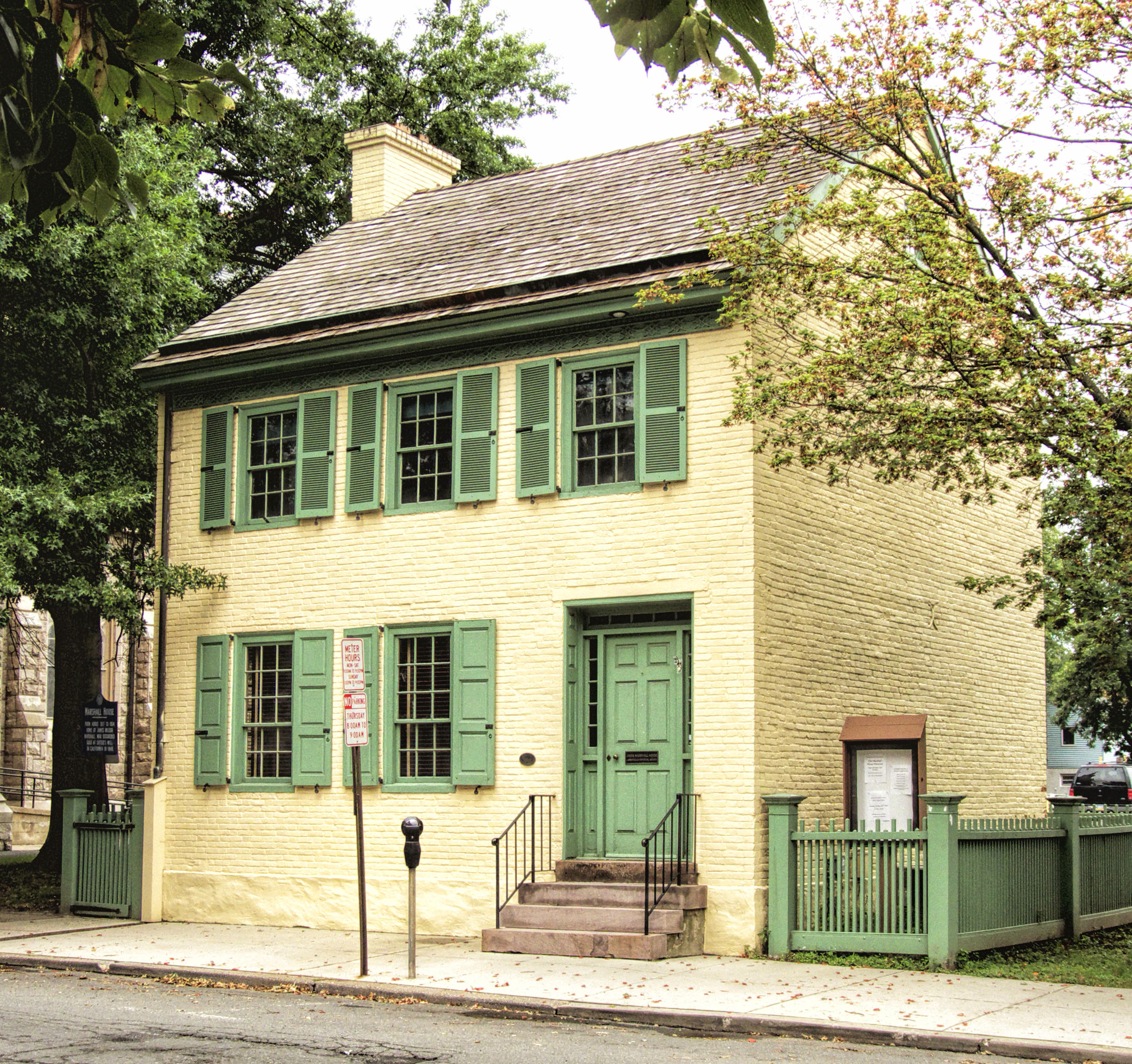 About us lambertville historical society for Marshall house