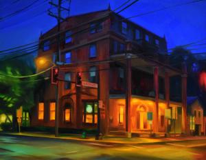 Bridge Street by Martha Wirkijowski