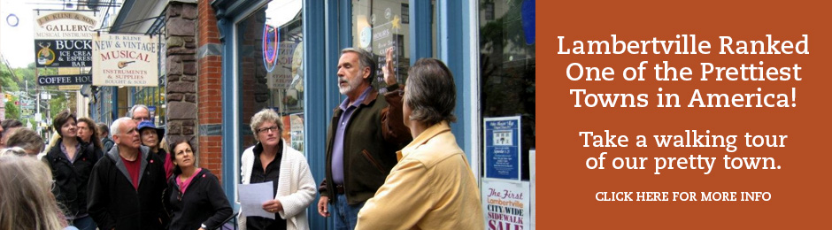 Walking Tours of Lambertville