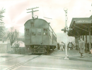 Lambertville Station last stop
