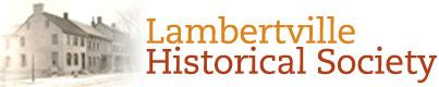 Lambertville Historical Society Logo